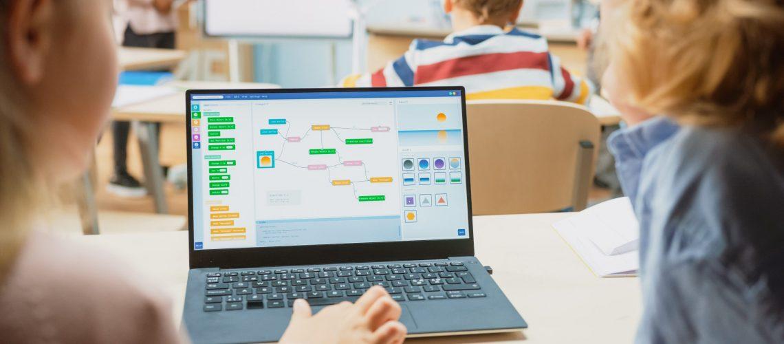 Teaching coding to kids